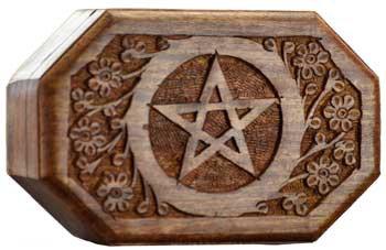 Octagonal Pentacle Box