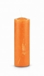 Orange Pull Out Candle (Glass Holder Option)