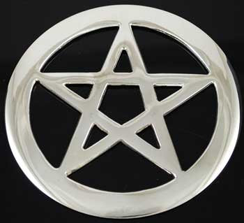 Silver Plated Pentacle
