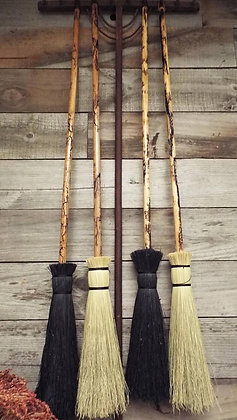 Natural Broomcorn Lightning Besom