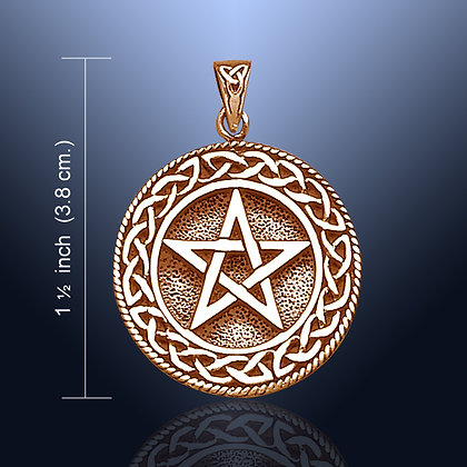 Copper Pentacle Pendant