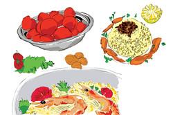 Food Illustrations/Alef issue 3