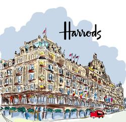 Harrods Store London