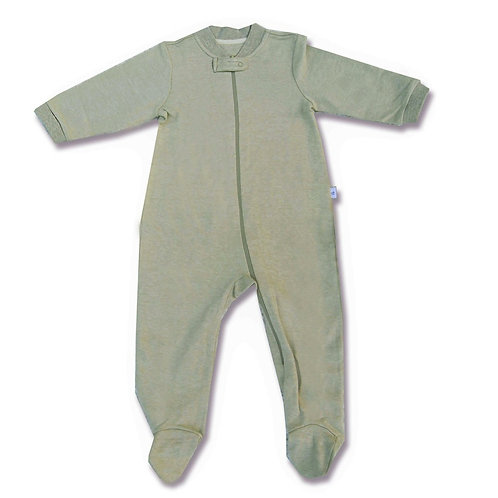 Nature's Own Zip-Up Sleepsuit