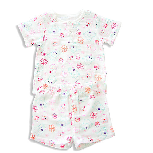 Lily The Butterfly Tee and Shorts