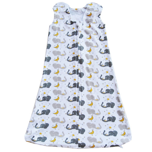Nap a Lil Organic Cotton Sleeping Bag-1.0 TOG-Sleepy Elly