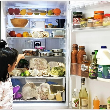 What does your fridge look like ?