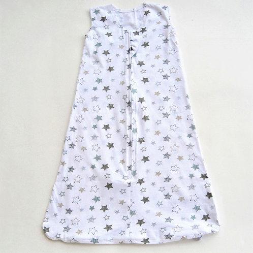 Nap a Lil' Organic Cotton Sleeping Bag -0.5 Tog Starry Night
