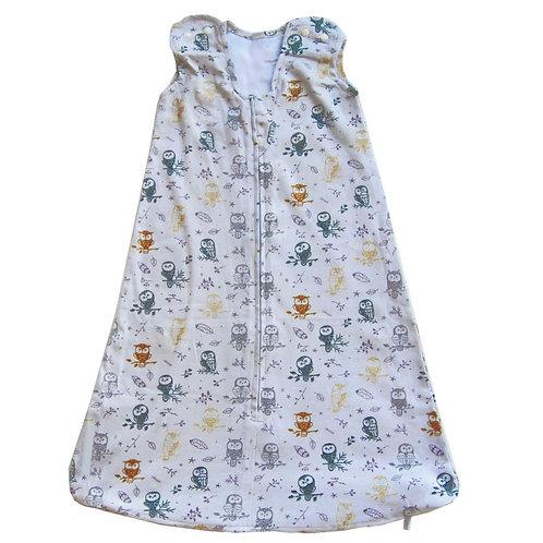 Nap a Lil Organic Cotton Sleeping Bag – 1.0 TOG-Dreamy Owlette
