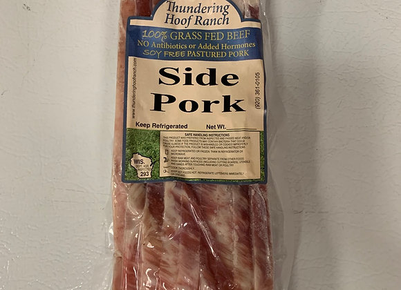 Side Pork - Unsmoked Bacon