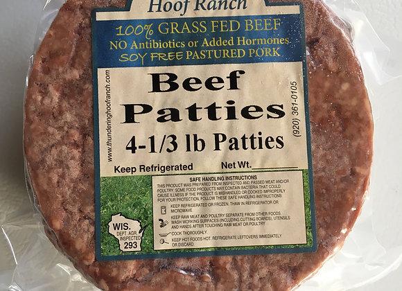 Gr. Beef Patties - 4 per package