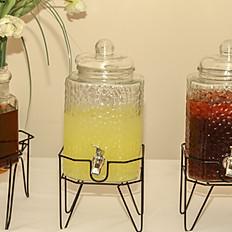 Glass Beverage Jars