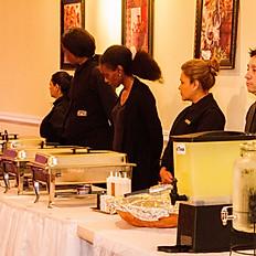 Served Buffet Set Up