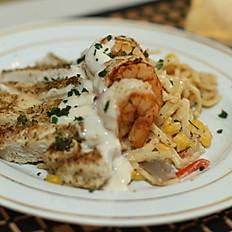 Shrimp & Chicken Pasta