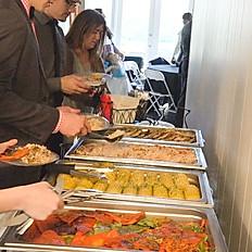 Self Serve Buffet Set Up