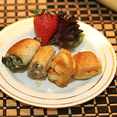 Cheese Filled Puff Pastries