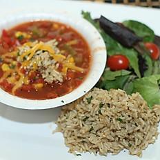Brown Rice & Veggie Chili