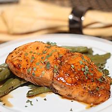 Brown Sugar & Bourbon Salmon