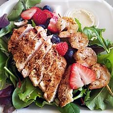 Shrimp & Chicken Salad w/ Berries
