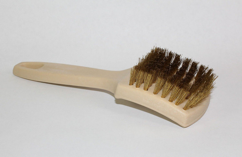 "Brass White wall Brush 1"" Bristle"