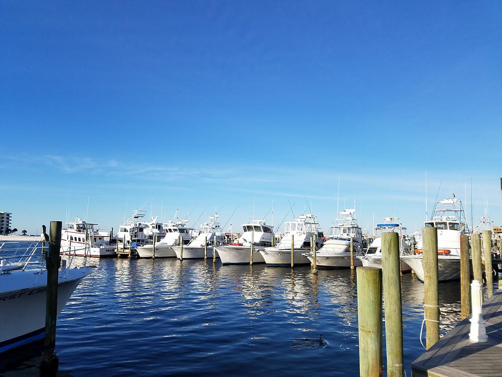Destin Harbor Charter Boats