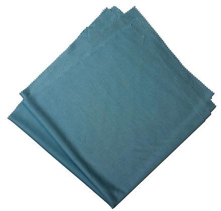 ULTRA FINE GLASS MICROFIBER CLOTH- 20X20 BLUE