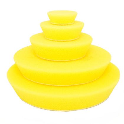 Yellow Fine Random Orbital Foam Pads 100mm/4″
