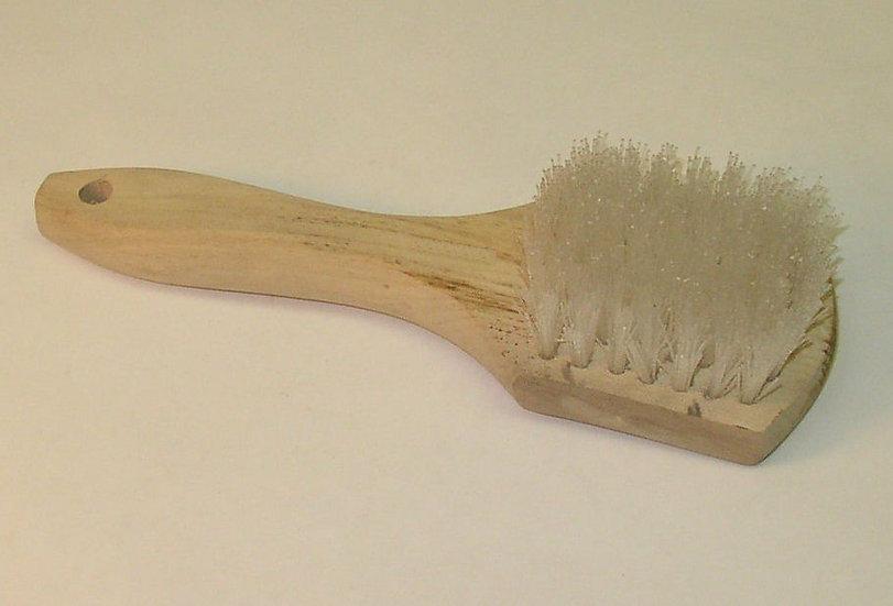 Wood Handle Nylon  White Wall Brush
