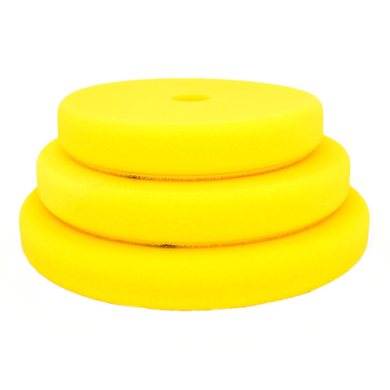 BigFoot Rotary Yellow Fine Foam Pads 135mm/5.25″