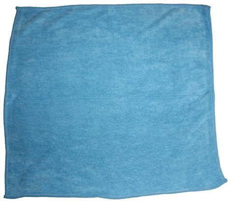 MICROFIBER CLOTH - BLUE KOREAN STYLE 16X16