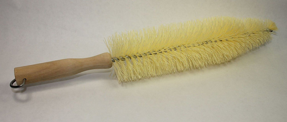 Nylon Spoke Brush w/Wood Handle