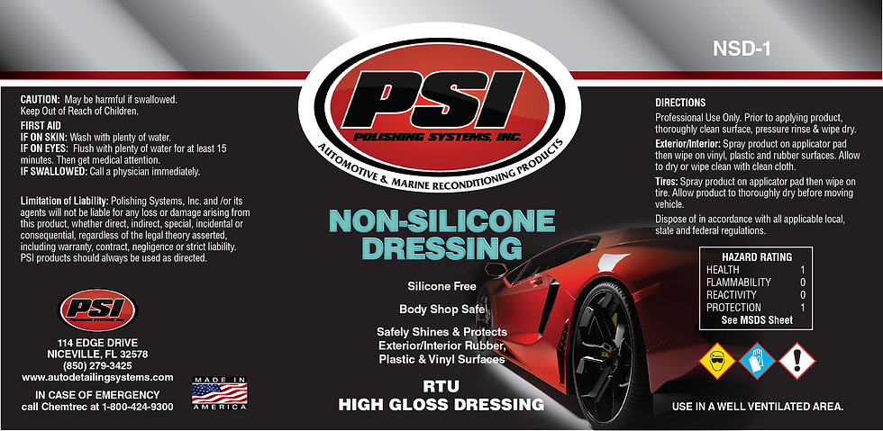 Non-Silicone Dressing
