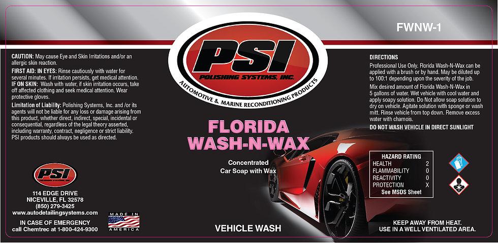 Florida Wash -N- Wax