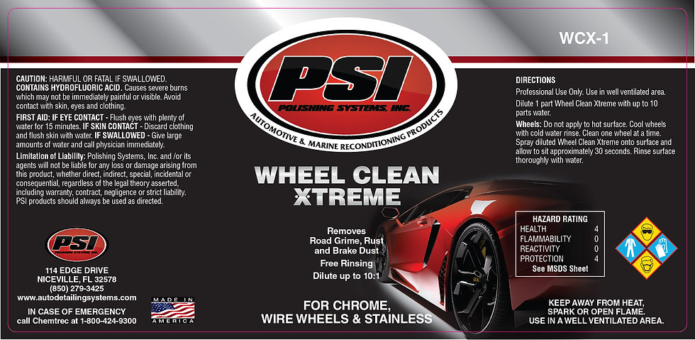 Wheel Clean Xtreme