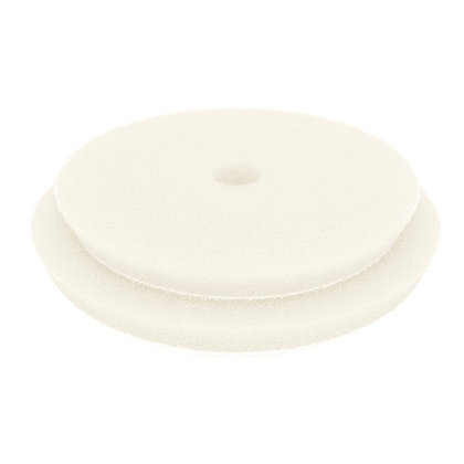 White Ultra-Fine Foam Pads for Gear Driven Polishers 140mm/5.5″