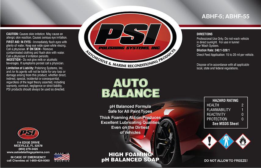 AUTO BALANCE HIGH pH FOAMING SOAP 5 GALLON
