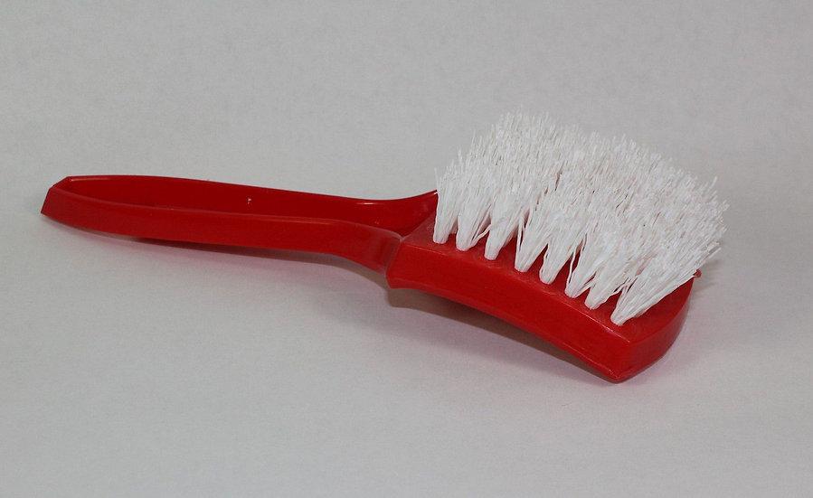 """Red Nylon White Wall Brush 1"""""""