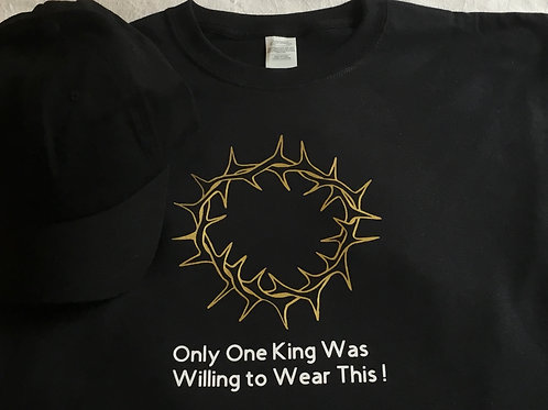 Only One King Crown of Thorns Tee
