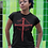 Thumbnail: THIS MEANS YOU WIN - BLACK AND RED TEE - UNISEX