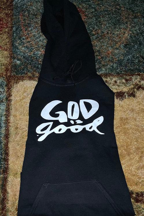 GOD IS GOOD HOODIE BLACK