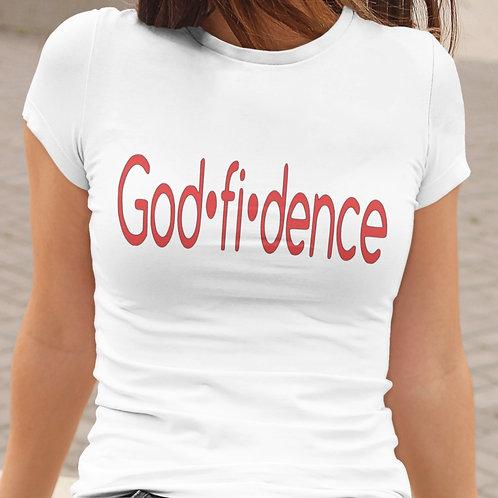 GODFIDENCE WOMEN'S TEE