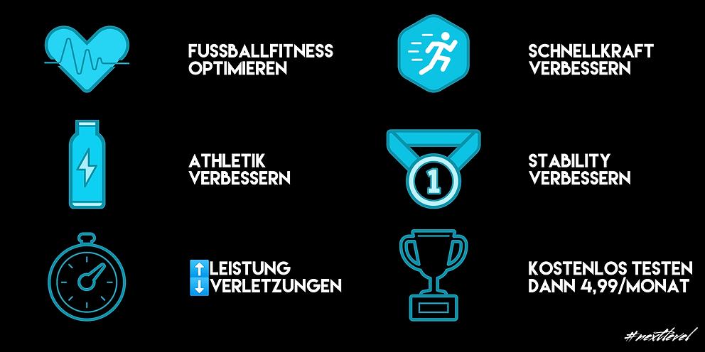Soccerphysics Überblick bezüglich Leistungen