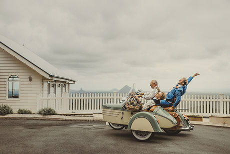 Motorcycle Sidecar Special Event -  Wedding
