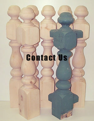 contact us, simmonds woodturning, Balustrades, Newel Posts, Restration, Porch Posts