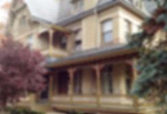 porch posts, victorian porch, turned posts, historic home restoration