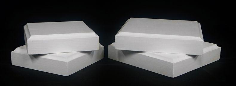 Cropped Capital and Plinth Plates Groupi
