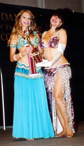 Louchia 2006 winner Bellydancer of the U