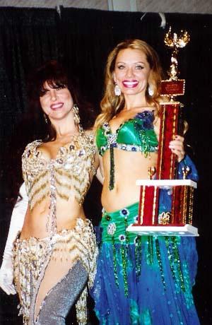 Louchia 2006 winner holding trophy