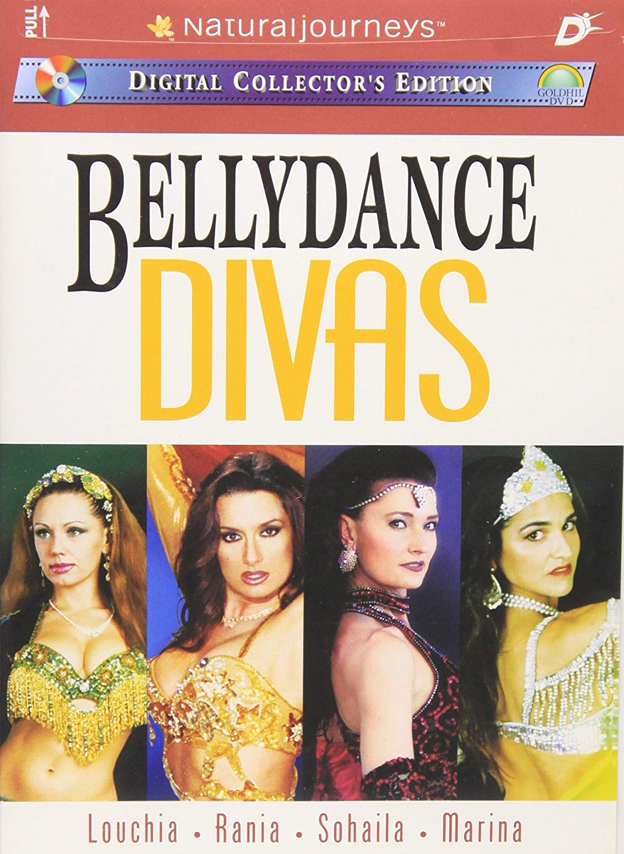 Louchia Bellydance Divas DVD cover