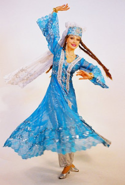 Louchia blue Persian spinning